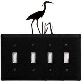 Heron - Quadruple Switch Cover