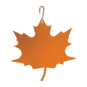 Maple Leaf - Decorative Hanging Silhouette-ORANGE