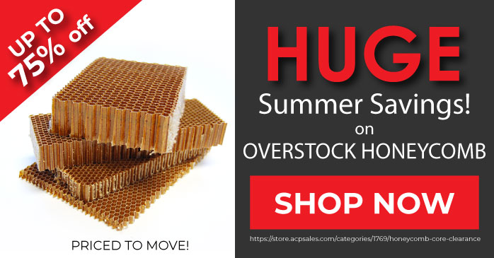 Honeycomb Clearance Web Banner