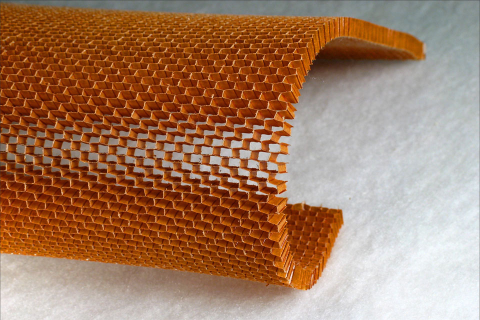 Over-Expanded Cell Aramid Honeycomb