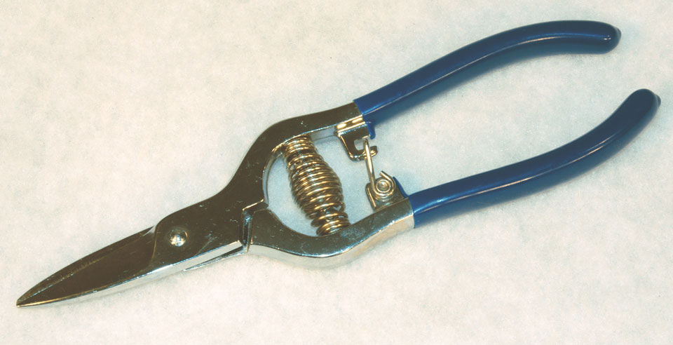 6 1/2'' Aramid Spring Loaded Composite Shears