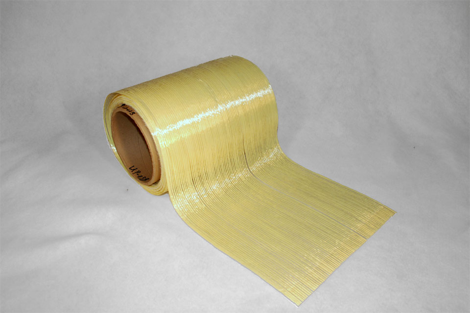 "Aramid ""Uni-Web"" Unidirectional Fiber"