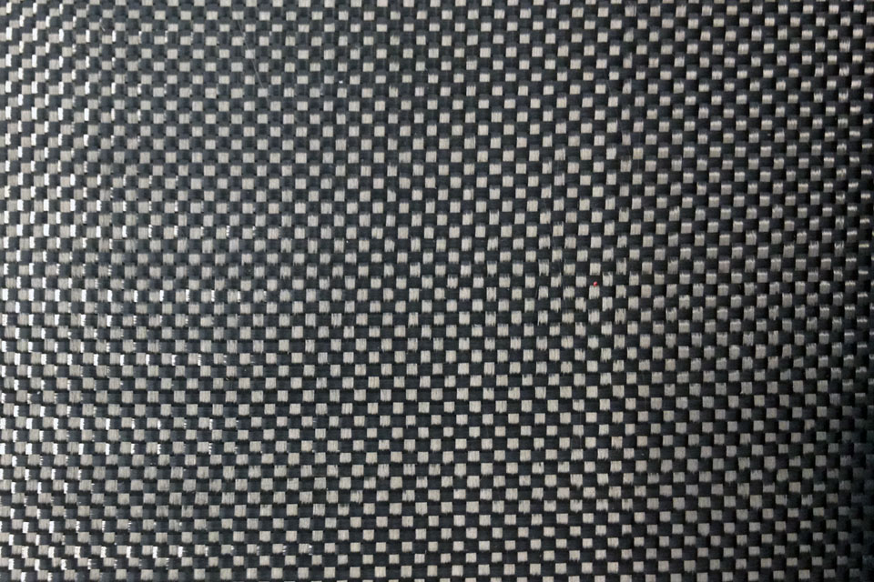 2.9 oz. Plain Weave Carbon Fiber Fabric 42''