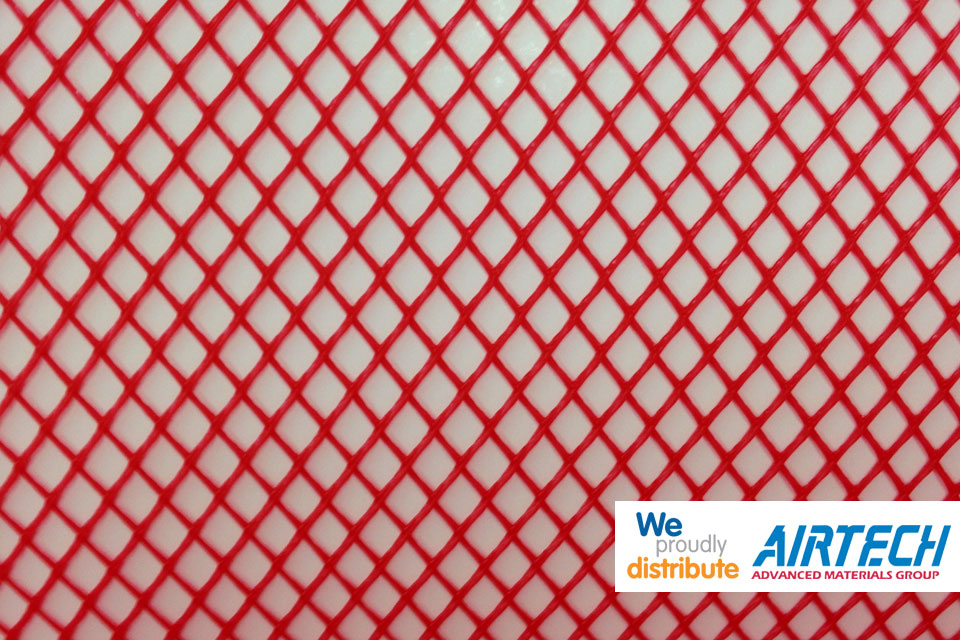 Resin Infusion Mesh - Red
