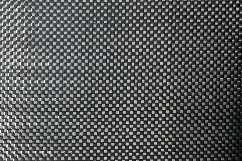 2.9 oz Carbon Fiber Fabric Plain Weave Swatch