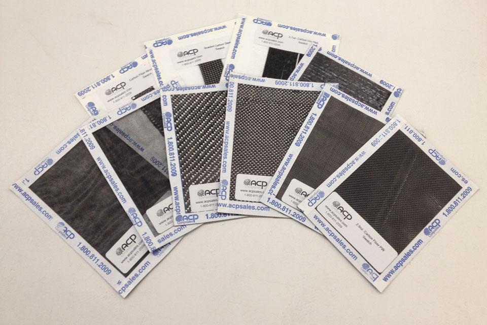 Carbon Fiber Samples