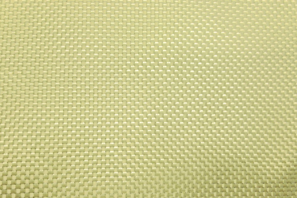 1.7 oz Aramid Fabric Plain Weave Swatch