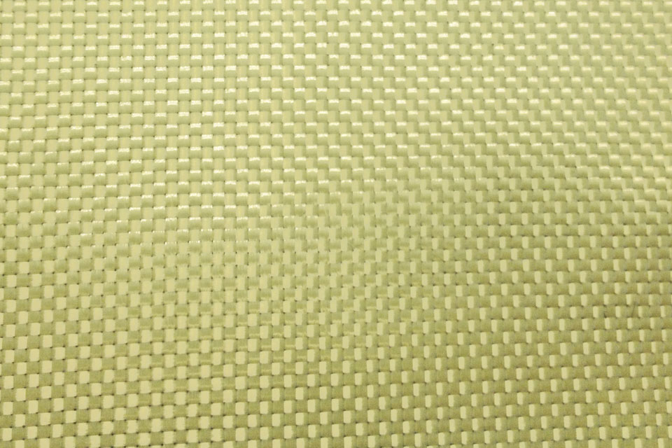 5 oz Aramid Fabric Plain Weave Swatch