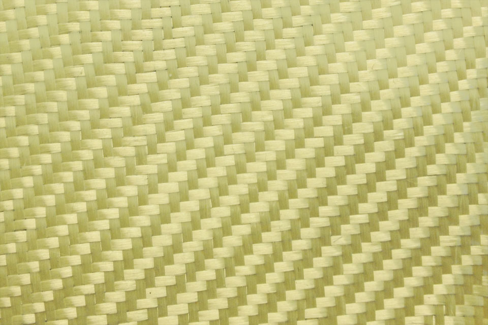 5 oz Aramid Fabric 2x2 Twill Weave Swatch