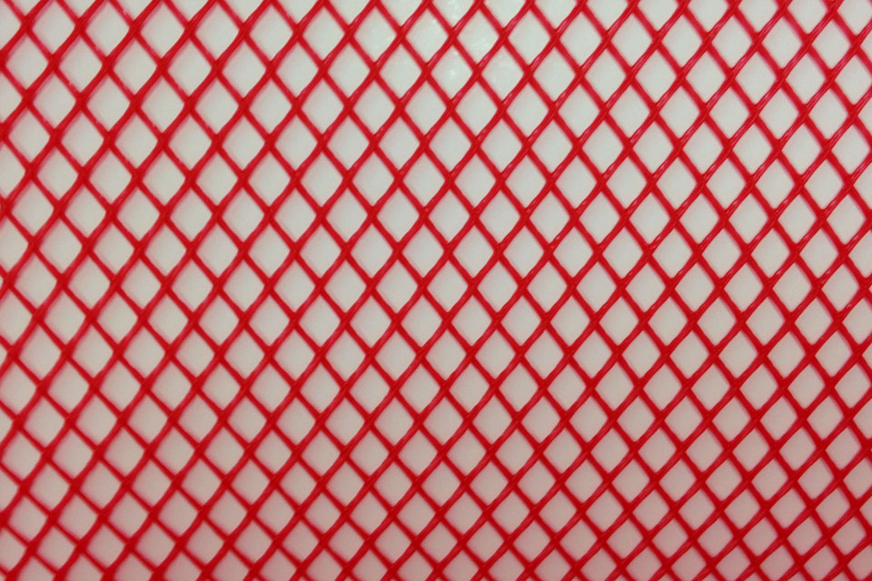 Resin Infusion Mesh - Red Swatch