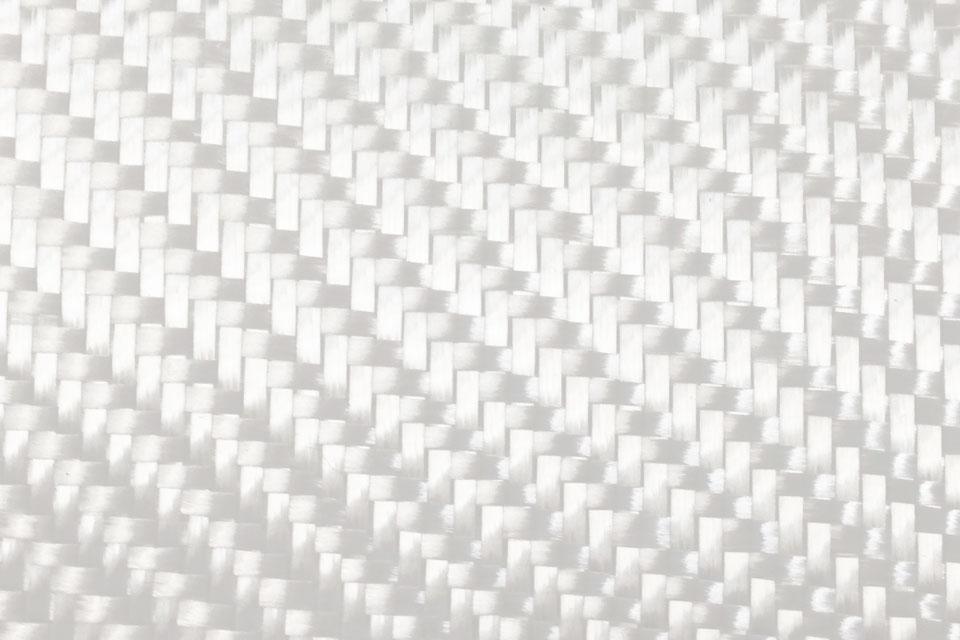 8.7 oz Fiberglass Fabric 2x2 Twill Weave Swatch