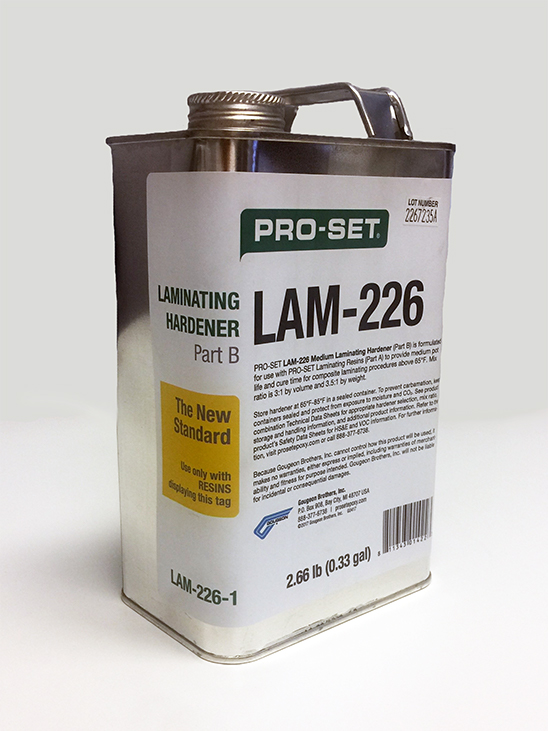 PRO-SET Laminating Epoxy 226 Hardener .33 Gallon