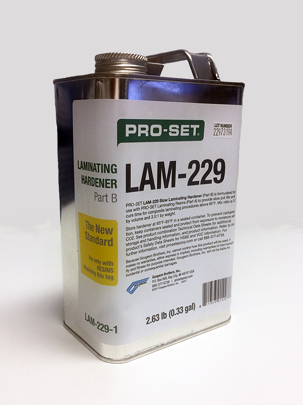 PRO-SET Laminating Epoxy 229 Hardener .33 Gallon
